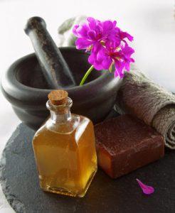 Huile de massage naturel